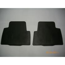 Fußmattensatz Gummi, 2-teilig  hinten für den Ford Focus C-Max und C-Max I 2003 bis 2010