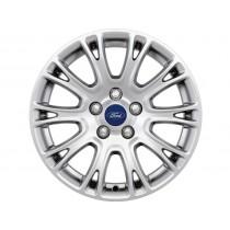 """1702125-Ford Original Alufelge 40,64 cm (16"""") 10 x 2-Speichen-Design, silber für den Ford Focus III 2014-"""