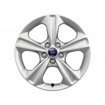 """Leichtmetallrad 43,18 cm (17"""") 5-Speichen-Design, silber für den Ford Kuga II 2012-"""