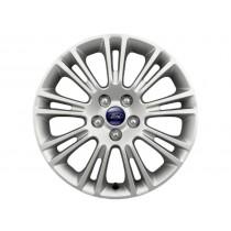 """Leichtmetallrad 43,18 cm (17"""") 9x2-Speichen-Design, Nickel-Optik für den Ford Kuga II 2012-"""