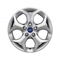 """Alufelge 40,64 cm (16"""") 5-Speichen-Y-Design, silber für den Ford Focus III 2014-"""