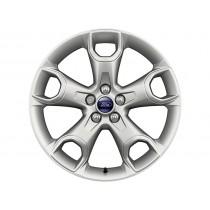 """Leichtmetallrad 48,26 cm (19"""") 5-Speichen-Stern-Design, Nickel-Optik für den Ford Kuga II 2012-"""