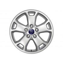 """Alufelge 40,64 cm (16"""") 5-Speichen-Design, silber für den Ford Transit Connect 2013-"""