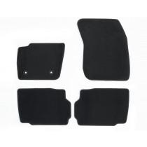 Teppichfußmatten, Velours vorne und hinten, schwarz für den Ford Mondeo 2014-