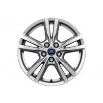 """Alufelge 43,18 cm (17"""") 5 x 2-Speichen-Design, silber für den Ford Galaxy 2015-"""