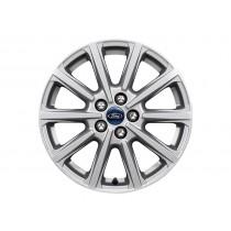 """Alufelge 43,18 cm (17"""") 10-Speichen-Design, silber für den Ford Galaxy 2015-"""