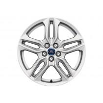 """Alufelge 45,72 cm (18"""") 5 x 2-Speichen-Design, silber für den Ford S-Max II 2015-"""