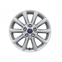 """Alufelge 40,64 cm (16"""") 10-Speichen-Design, silber für den Ford Focus II 2014-"""