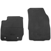 Allwetterfußmatten vorne, schwarz für den Ford Fiesta VI 2011-
