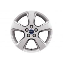 """Alufelge 43,18 cm (17"""") 5-Speichen-Design, silber für den Ford S-Max II 2015-"""