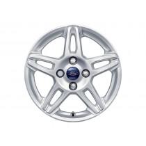 """Alufelge 38,1 cm (15"""") 5 x 2-Speichen-Design, Silber für den Ford KA 2016-"""