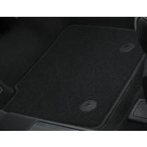Teppichfußmatten Standard vorne und hinten schwarz Ford Mondeo 2014-2017