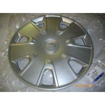 Radkappe 14 Zoll Stahlfelge für die Reifengröße 175/65 R 14 des Ford Fiesta Mk5