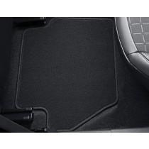 Fußmatten hinten schwarz Ford Fiesta VII 2017-