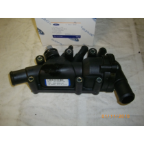 1212852-Ford Original Thermostatgehäuse Ford Ka 1.3 Ltr. Benzinmotor 2002-2008