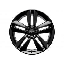 """Alufelge 48,26 cm (19"""") 5 x 2-Speichen-Design, schwarz für den Ford Mustang 2015-"""