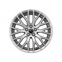 """Alufelge 48,26 cm (19"""") hinten, 10-Speichen-Y-Design, Nickel-Optik für den Ford Mustang 2015-"""